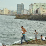Fisherman on Malecon