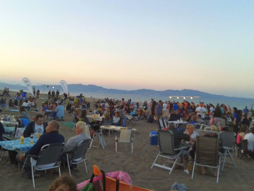 Costa Brava Spain- Grilling area