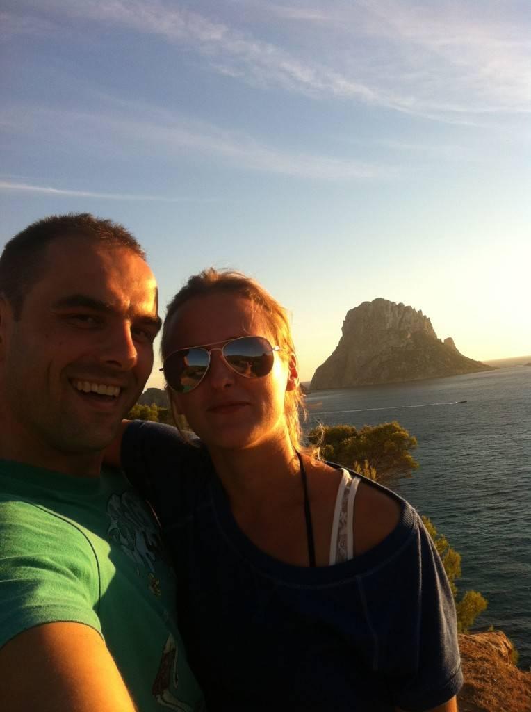Ibiza beaches - Admiring the views