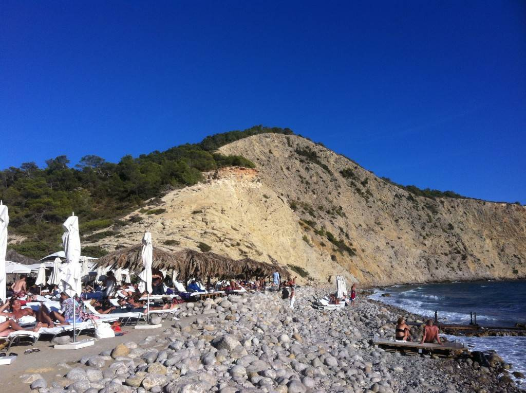 Ibiza beaches - beach bar