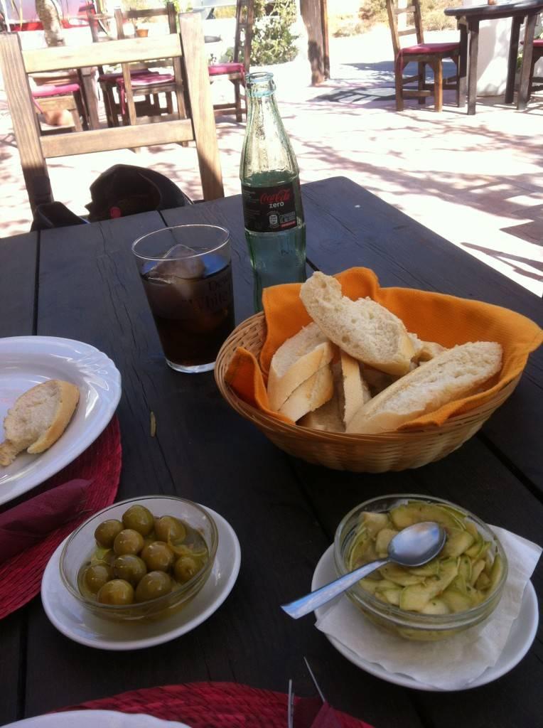 Ibiza beaches - italian-argentinian food