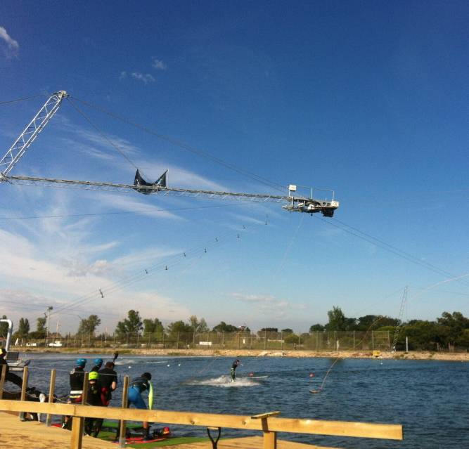 Rixen, water lift, wakeboarding cable castelldefels