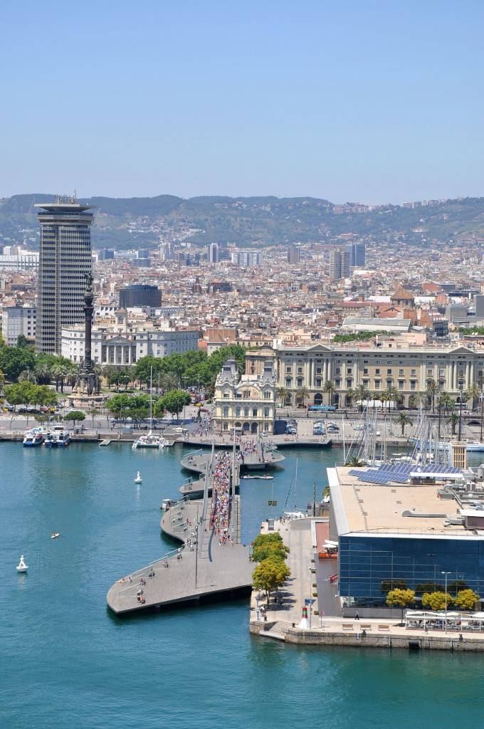 Barcelona attractions - Calle del Mar Barcelona