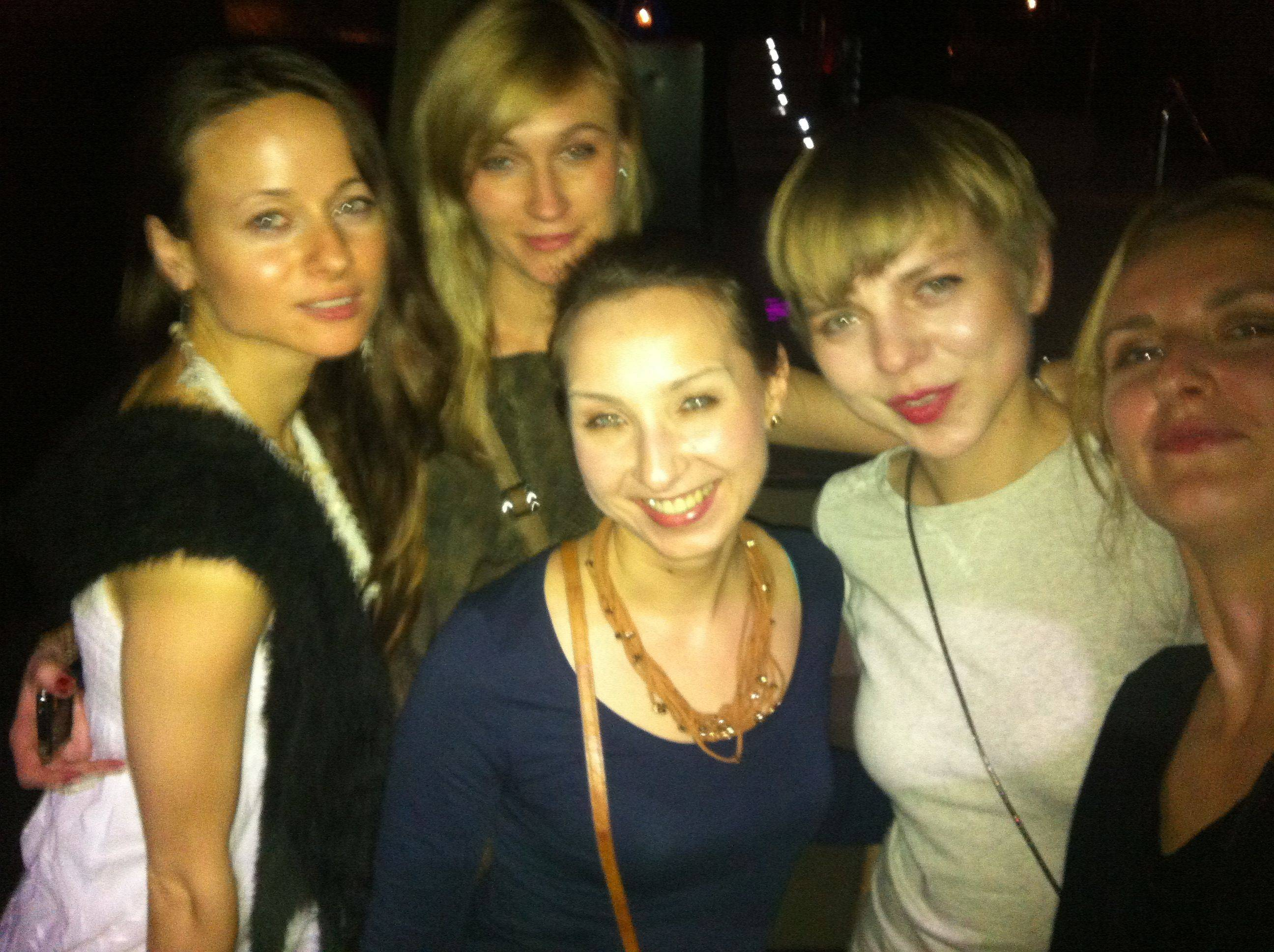 Girls night out in Barcelona