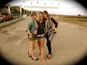 Polish blond and beautiful girls in Barcelona