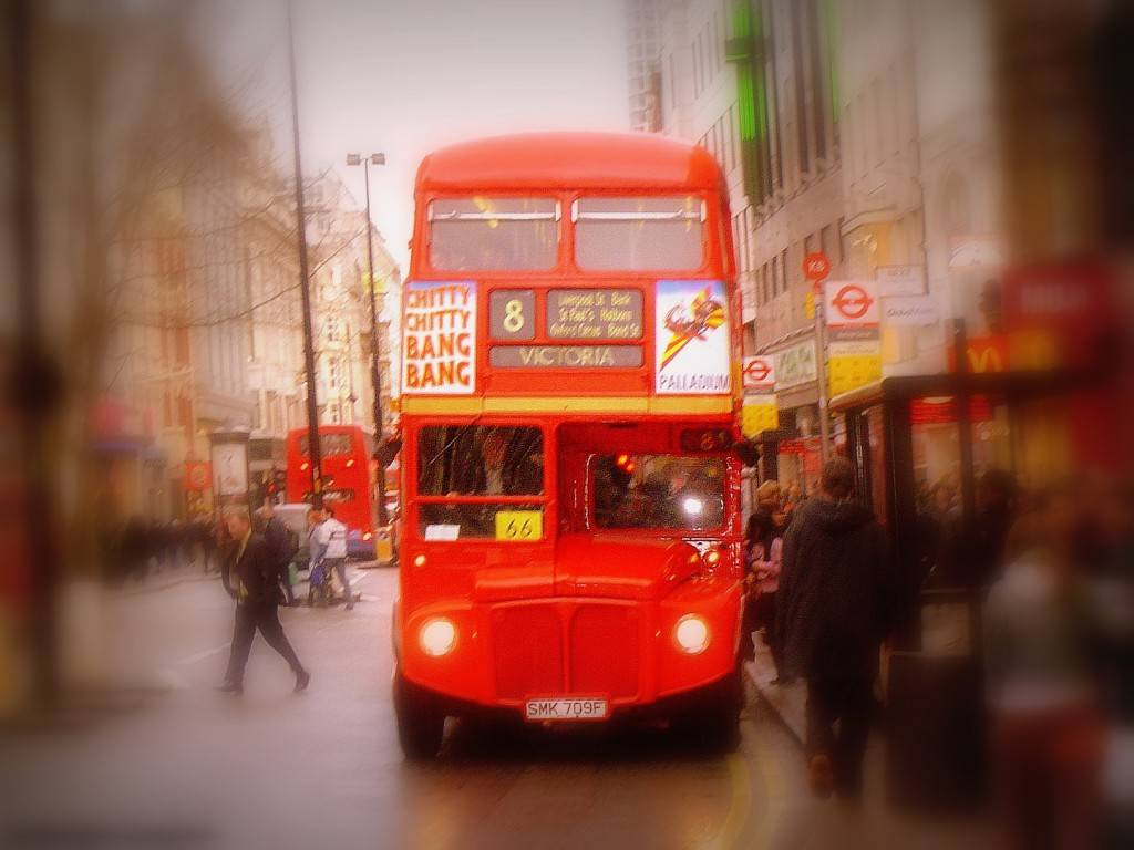 best cities to live in - old london bus