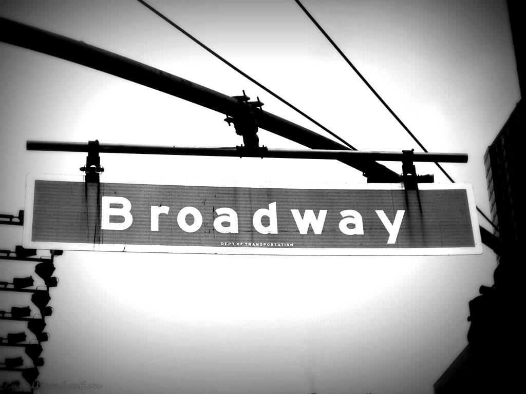 best cities to live in - new york Broadway