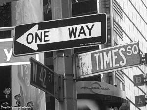 new york one way