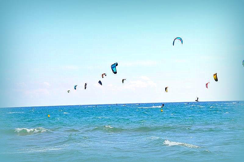 Kitesurfing paradise