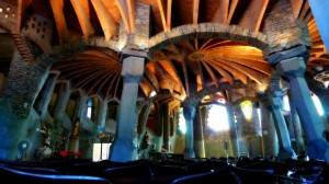 colonia guell - church crypt