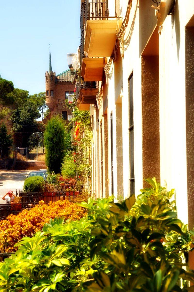 colonia guell - city street