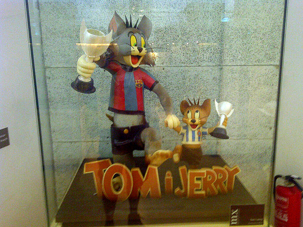 chocolate museum -tomandjerry