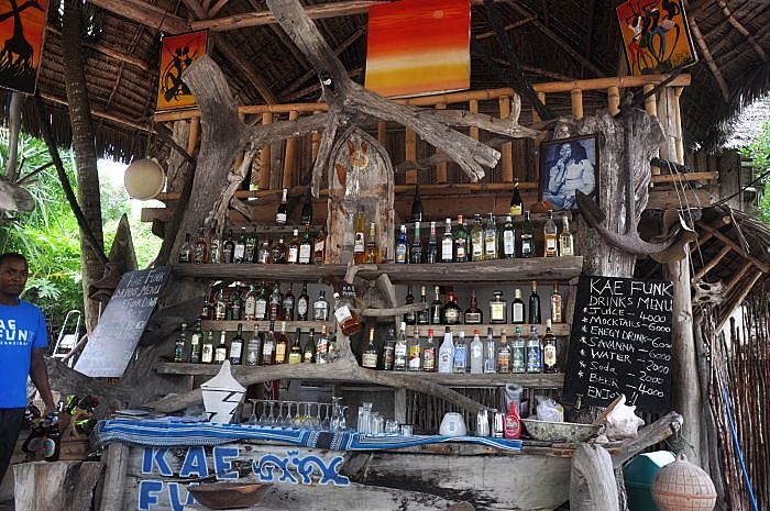 Zanzibar island - 'Rasta' Bar - best chill out zone on Zanzibar