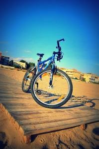 best beach - Cycling Castelldefels