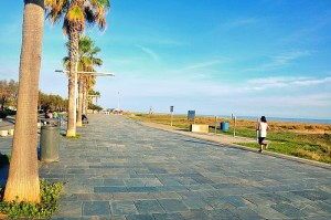 best beach - Castelldefels - jogging