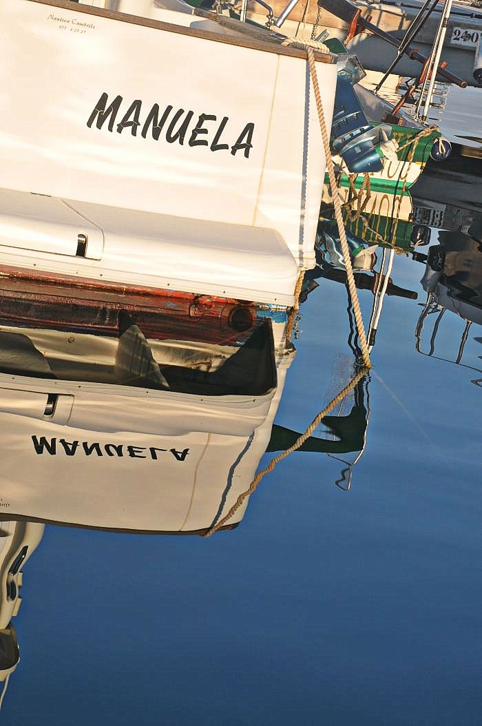Port Ginesta -I wonder who is Manuela