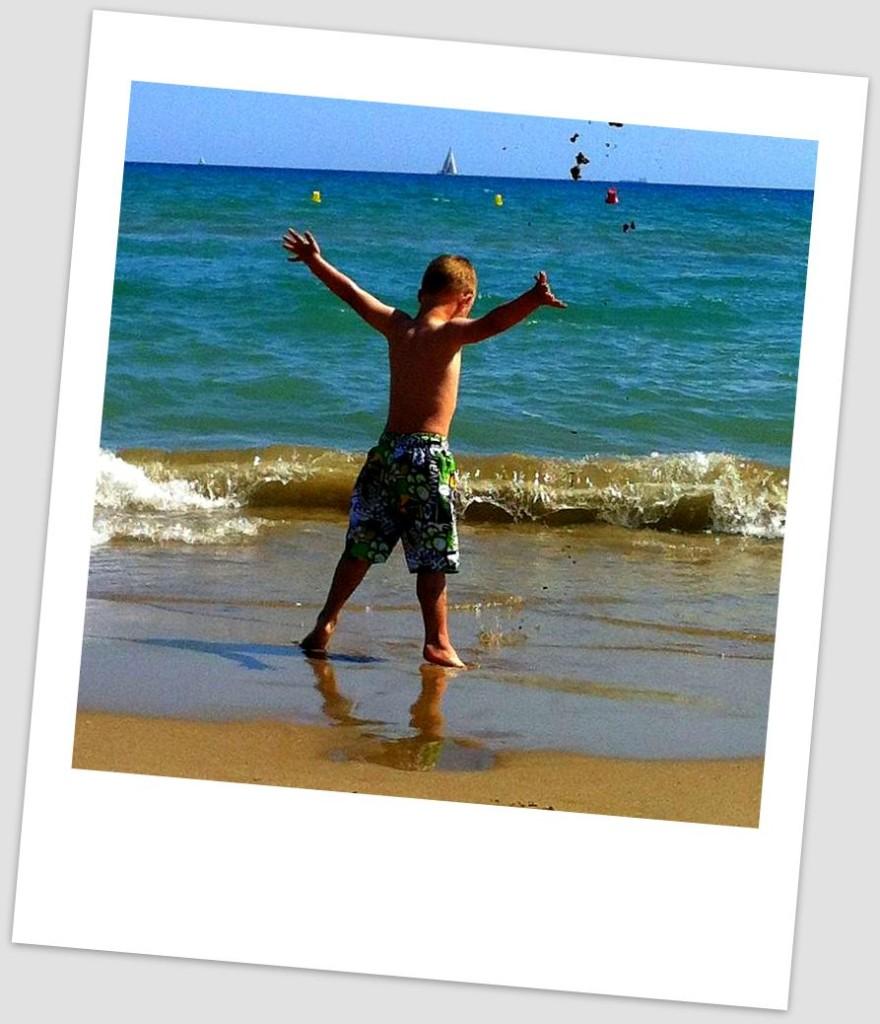 best beach - Castelldefels Beach Rocks!