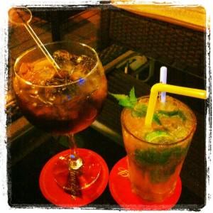 best beach - castelldefels drink