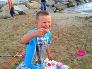 best beach - robaki na ryby