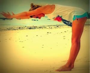 best beach - yoga