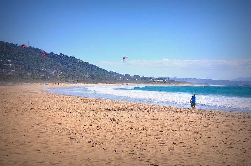 Andalusia, kitesurfing, tapas, spain Ocean views on the Costa de la Luz