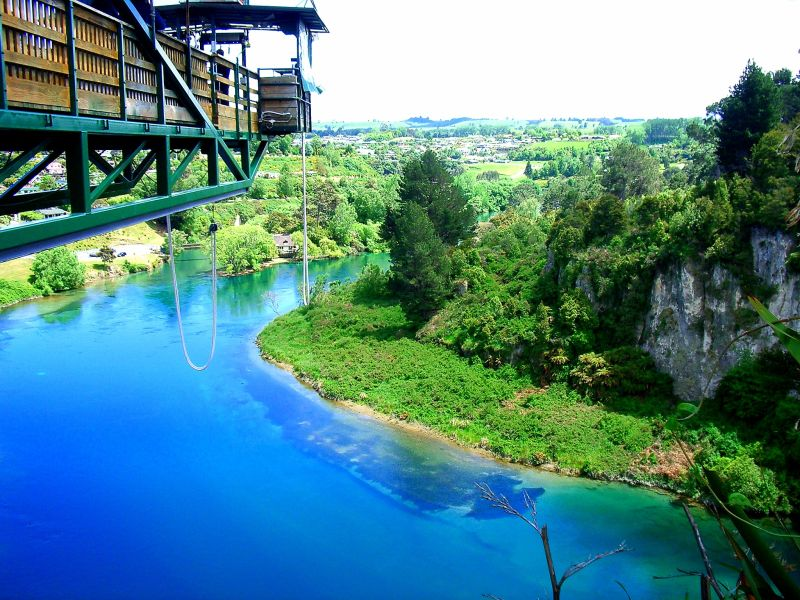 bungee jumping new zealand travel The best place to die